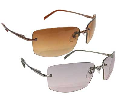 Reaction Frameless Sunglasses